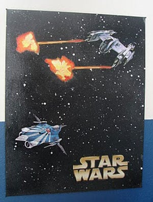 Custom Star Wars Poster