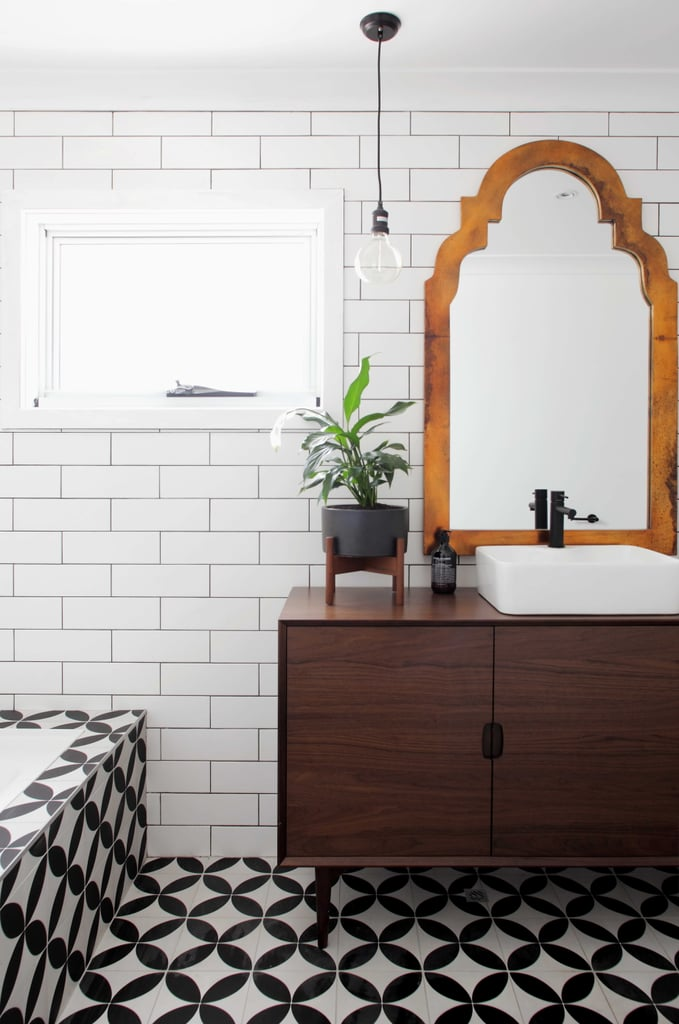 Rooms reveal photos from house rules 2015 popsugar home for Bathroom zone 3