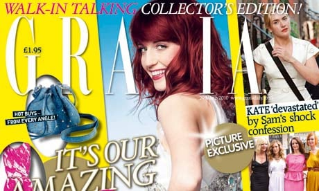 Grazia's 3D Issue Hits Newsstands