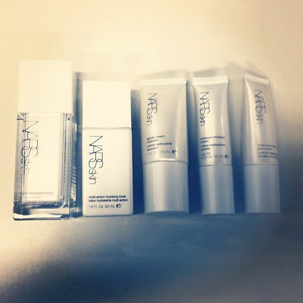 We'll take the lot! The beaut new products from the Nars Skin moisturising range.