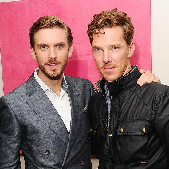 Benedict Cumberbatch With Dan Stevens in London | Pictures