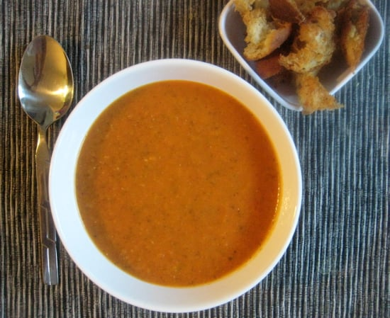 Roasted Tomato Basil Soup Is Superbly Comforting