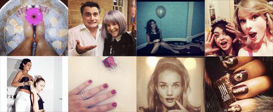 Celebrity Beauty Instagrams | Jan. 3, 2014