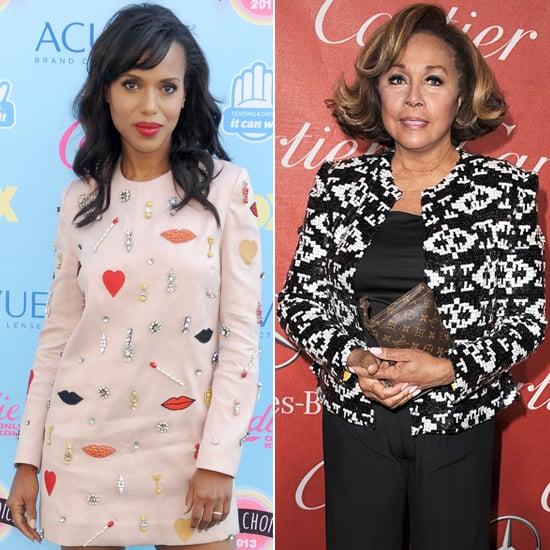 Scandal's Kerry Washington will present alongside four-time Emmy nominee Diahann Carroll.