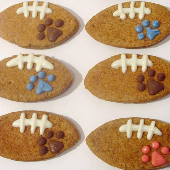 Super Bowl-Inspired Dog Treats