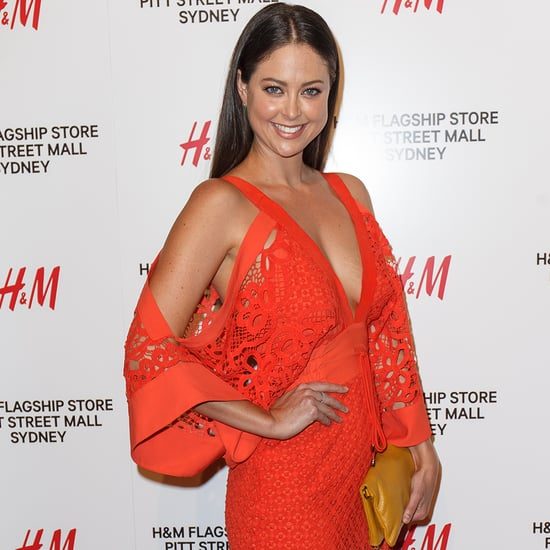H&M Pitt St Sydney Launch Celebrities