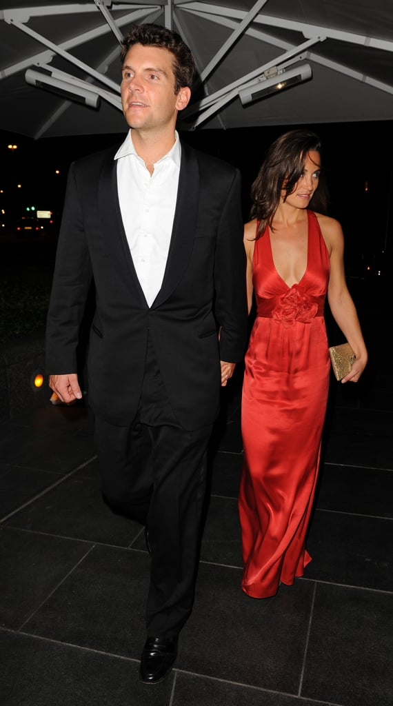 Pippa Middleton and Alex Loudon head home.
