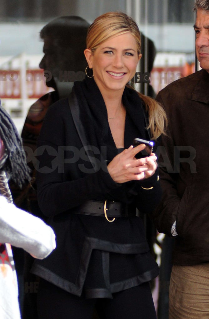 Pictures of Jennifer Aniston in Black