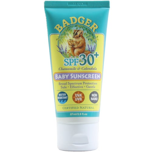 Badger Sunscreen Recall