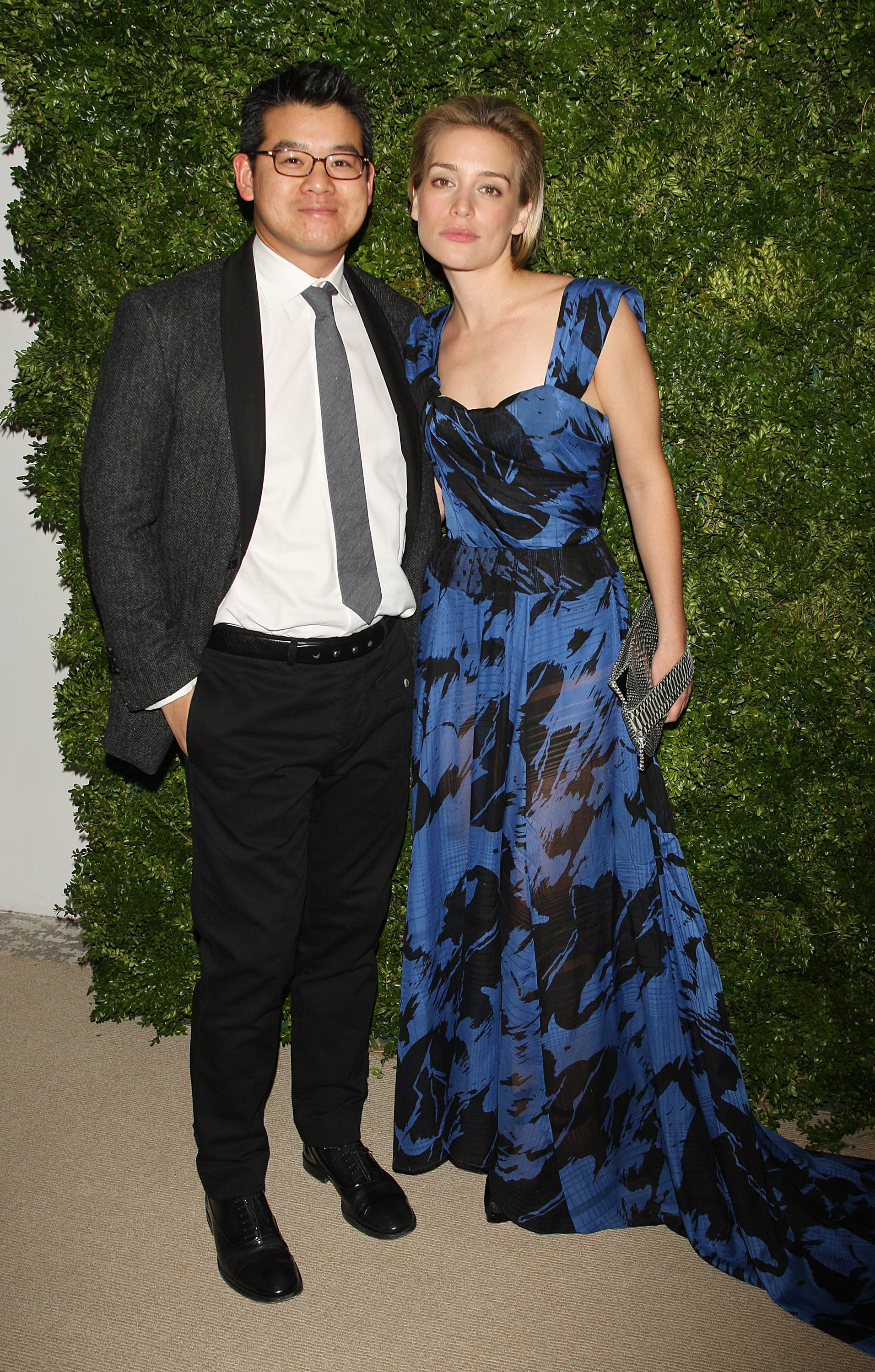 Peter Som and Piper Perabo.