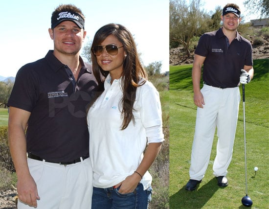 Nick Lachey at the Super Skins Celebrity Golf Classic