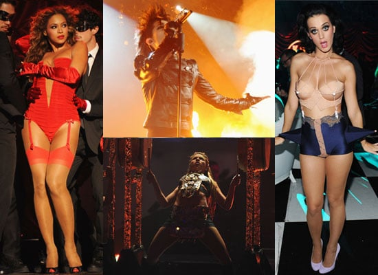 Extensive Photo Gallery of Celebrities at 2009 MTV EMAs Show With Pictures of Jay-Z, U2, Beyonce, Katy Perry