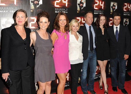 Photos of Kiefer Sutherland and Costars Jon Voight, Annie Wersching, Carlos Bernard, Mary Lynn Rajskub at 24 Season 7 Finale