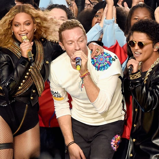 Beyonce, Coldplay, and Bruno Mars Super Bowl Performance