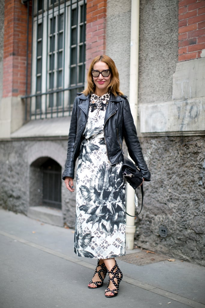 The modern woman's take on ladies-who-lunch attire.