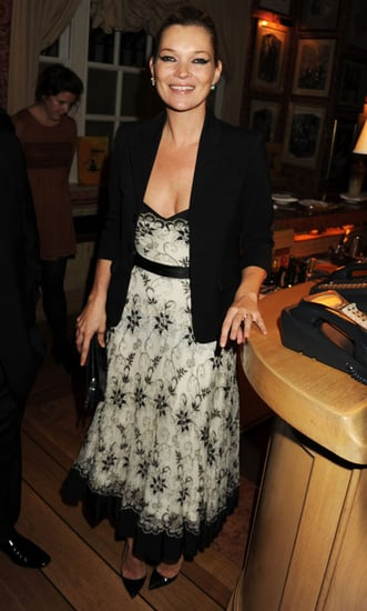 Pictures of Kate Moss at 2010 Help For Heroes Auction in London