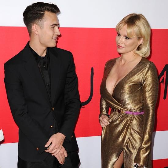 Brandon Lee and Pamela Anderson at Premiere | Photos