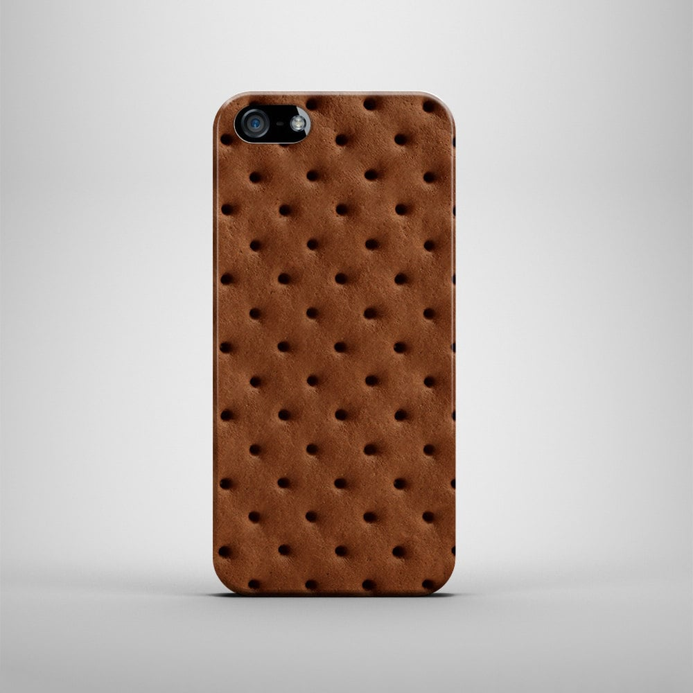 You'll want to rock this ice cream sandwich iPhone cover ($20-$25) even in the Winter.
