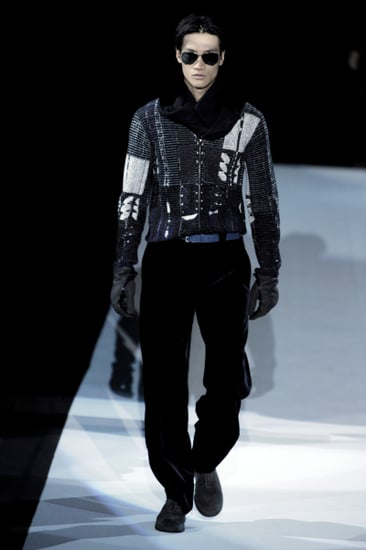 Milan: Giorgio Armani Men's Fall 2009
