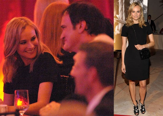 Photos of Diane Kruger, Kirk Douglas, and Quentin Tarantino at the 2009 Santa Barbara Film Festival