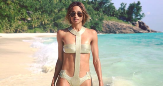 Ciara Models Sexy Swimsuits to Celebrate Engagement: Shop Her Designer Looks