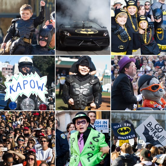 Make-a-Wish Helps Miles Become Batkid, and It's Awesome