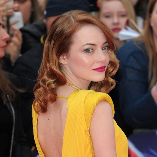 Emma Stone Hair and Makeup on the Amazing Spider-Man 2 Tour