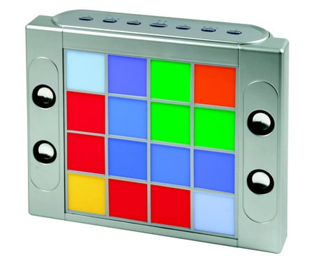 Totally Geeky or Geek Chic? Color Cube Speaker