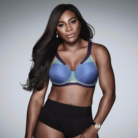 Serena Williams Wearing Berlei Sports Bra on Instagram