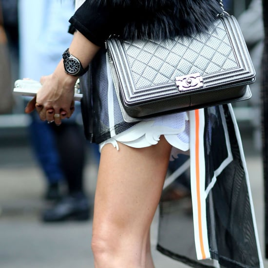 Street Style Shoes and Bags Milan Fashion Week Fall 2014
