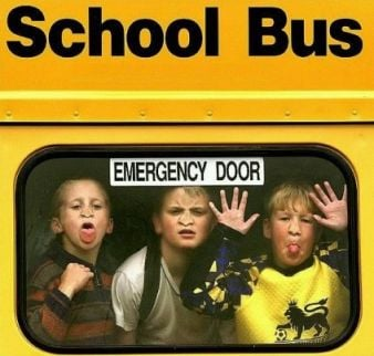 California student stops out of control school bus gets for Window licker meme