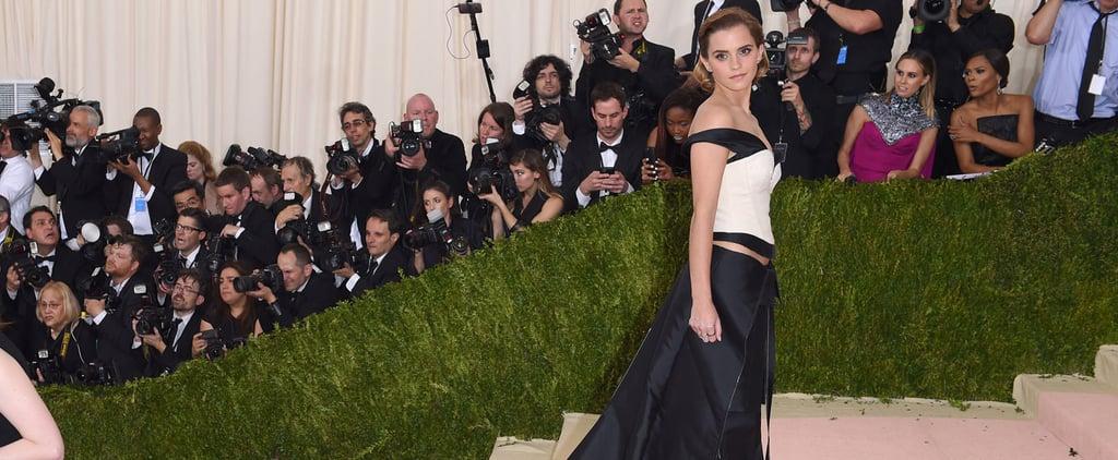 Believe It: Emma Watson's Met Gala Look Was Made From Plastic Water Bottles