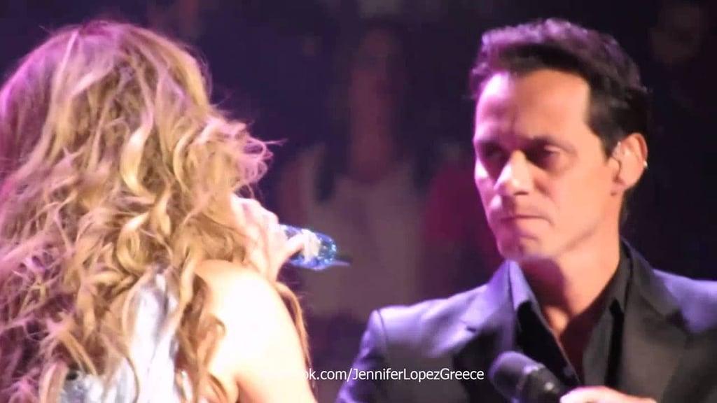 "Jennifer Lopez and Marc Anthony: ""No Me Ames"""