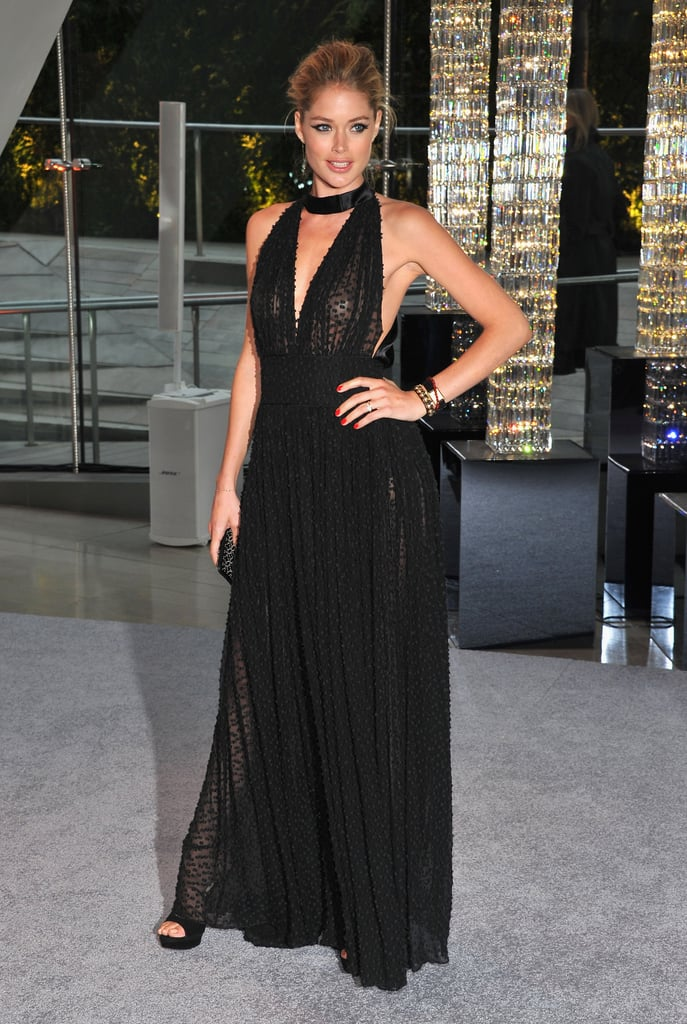 Doutzen Kroes wore Sophie Theallet at the 2012 CFDA Awards in June 2012.