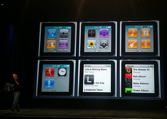 New iPod Details