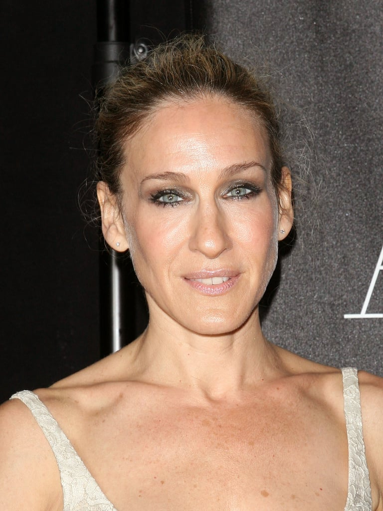 Sarah Jessica Parker Joins Ashton and Demi For a Zen Evening Out