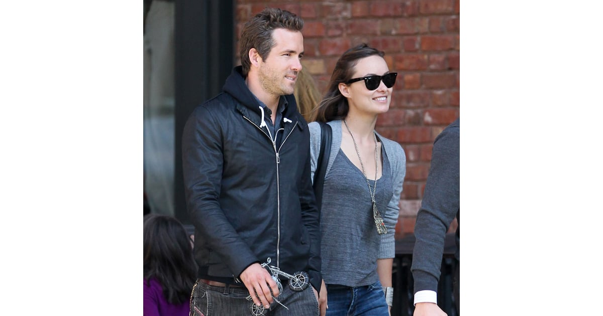 Ryan Reynolds and Olivia Wilde Together in NYC Pictures | POPSUGAR ...