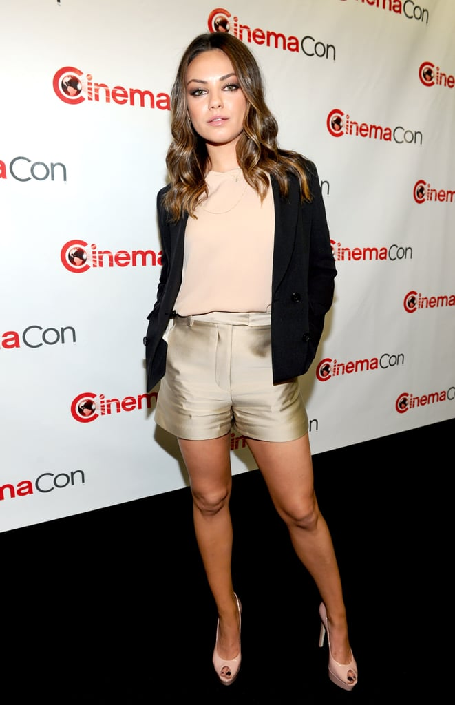 Mila Kunis attended CinemaCon in Las Vegas.