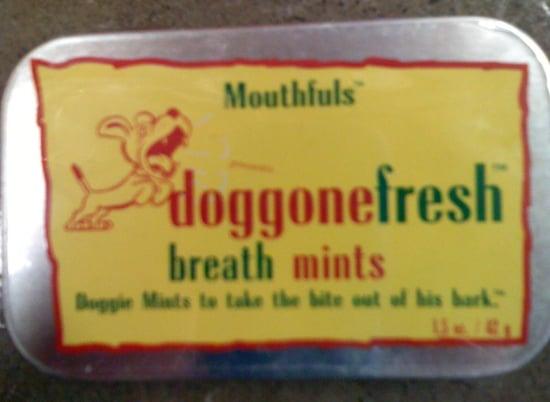 Keep Your Pup's Breath Doggone Fresh