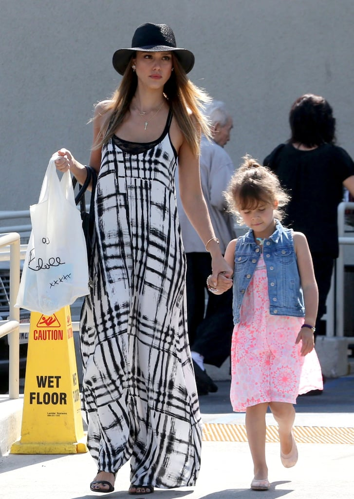 """Jessica Alba Celebrates Mother's Day With Her Family and """"Big Girl"""" Honor"""