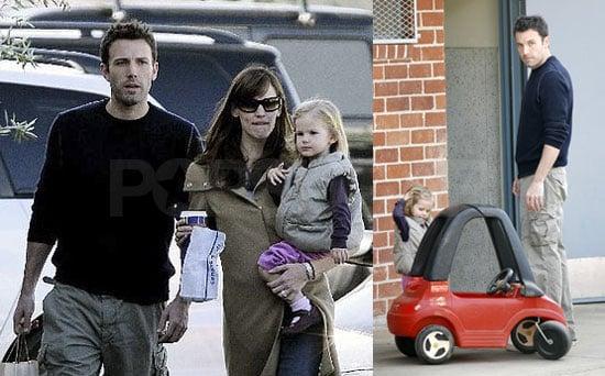 Ben Affleck, Jennifer Garner and Violet Affleck Are Back in Los Angeles