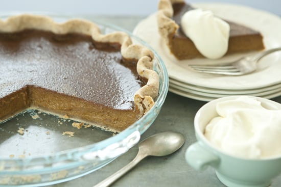 Pumpkin Pie With Pecan Crust