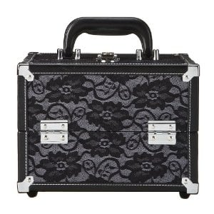 Caboodles Black Lace Cosmetic Case ($21)