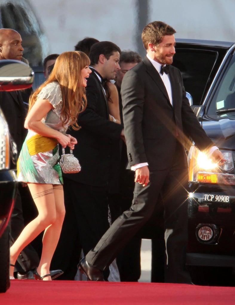 Jake Gyllenhaal Brings His Ex, Troop Beverly Hills Star Jenny Lewis, as Golden Globes Date!