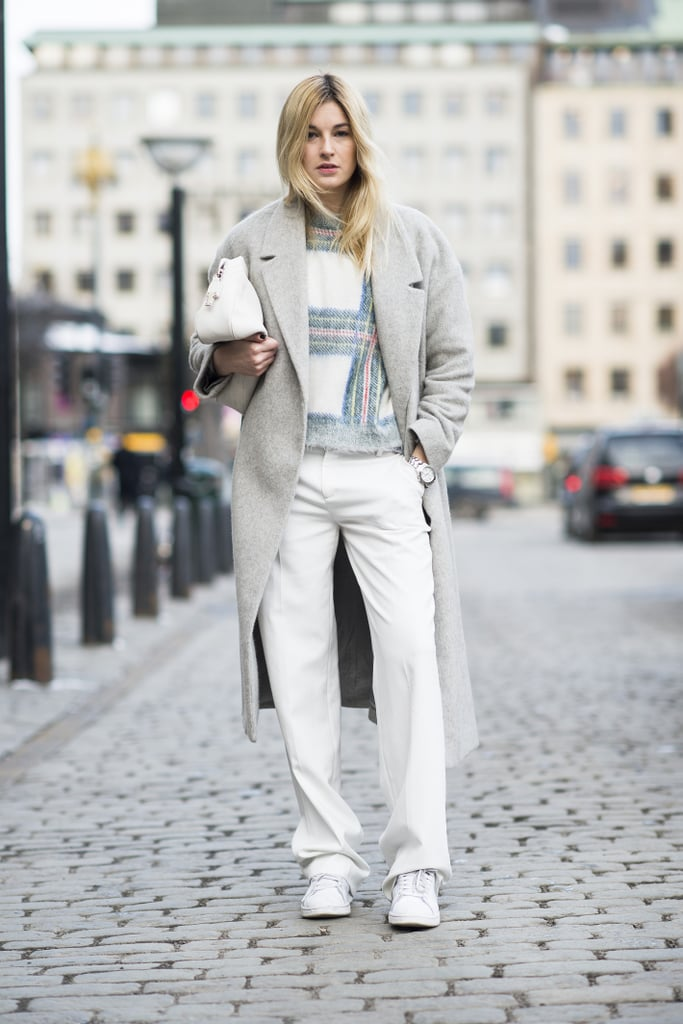 Do it all up in neutrals for a keep-cool Winter approach.  Source: Le 21ème | Adam Katz Sinding