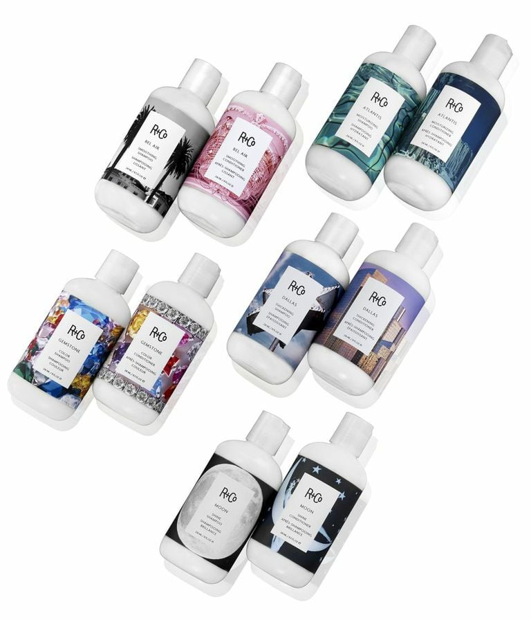 R+Co Shampoo-and-Conditioner Sets
