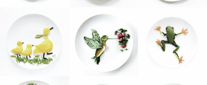 An Artist Is Taking Plate Art to a Whole New Level on Instagram