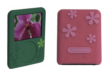Flower Power Protective iPod Cases
