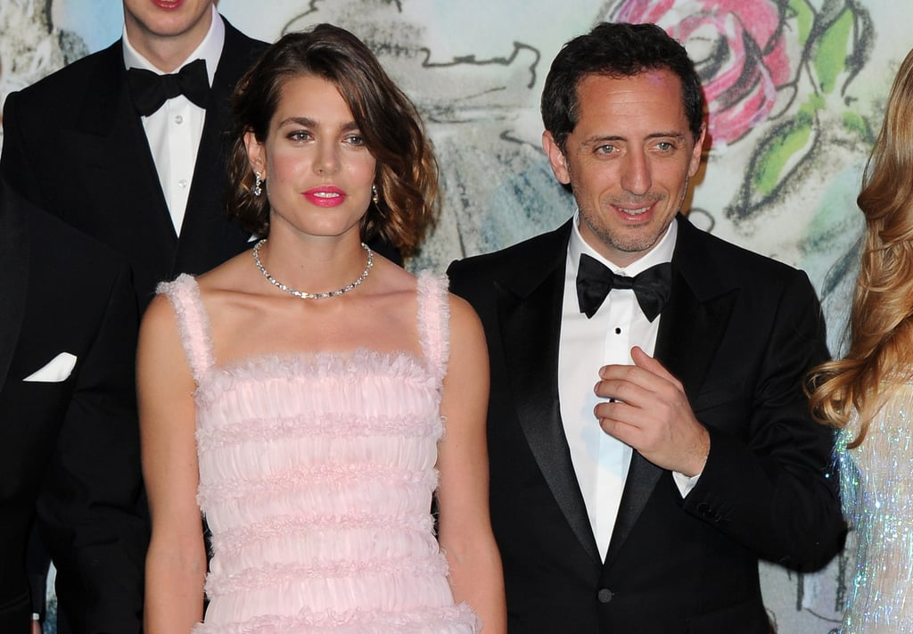 Charlotte attended the annual Rose Ball in Monte Carlo earlier this year, bringing along boyfriend Gad, who is a well-known actor and stand-up comedian in France. American audiences might recognize him from his cameo in Midnight in Paris, in which he plays a detective who gets stuck back in time at Versailles.