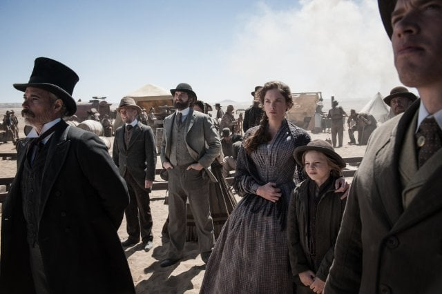 Ruth Wilson and Bryant Prince in The Lone Ranger.